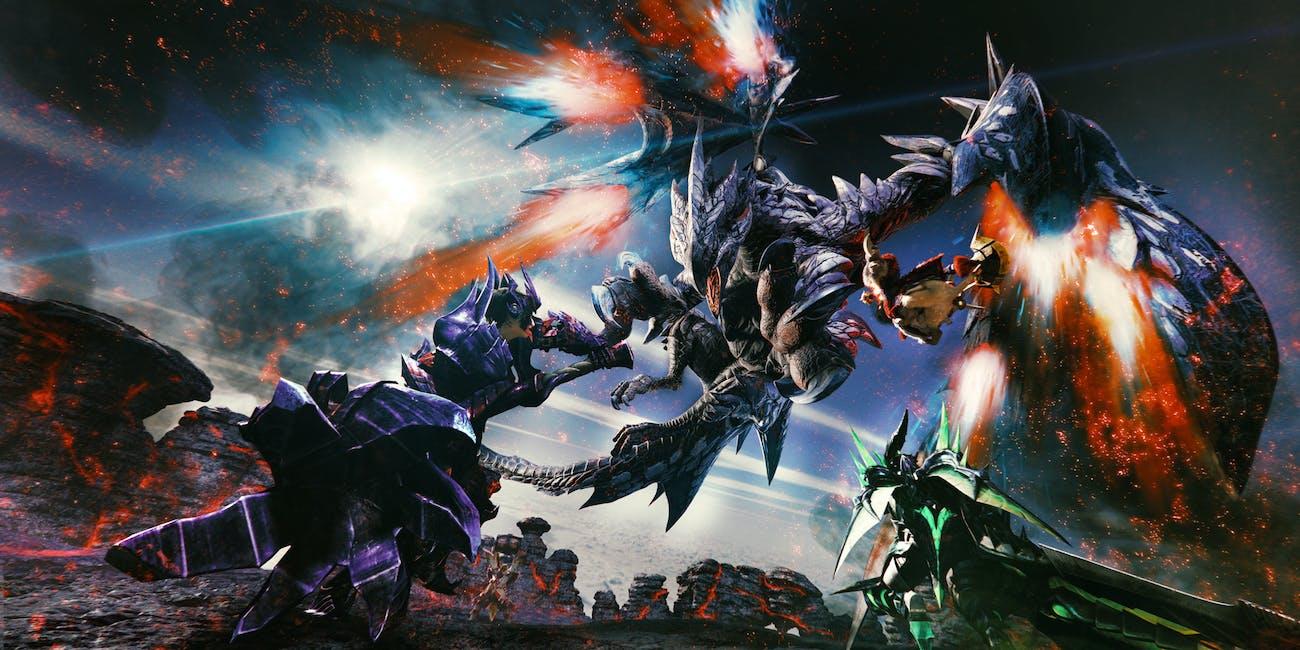 Monster Hunter XX Nintendo Switch 3DS Barufaruku