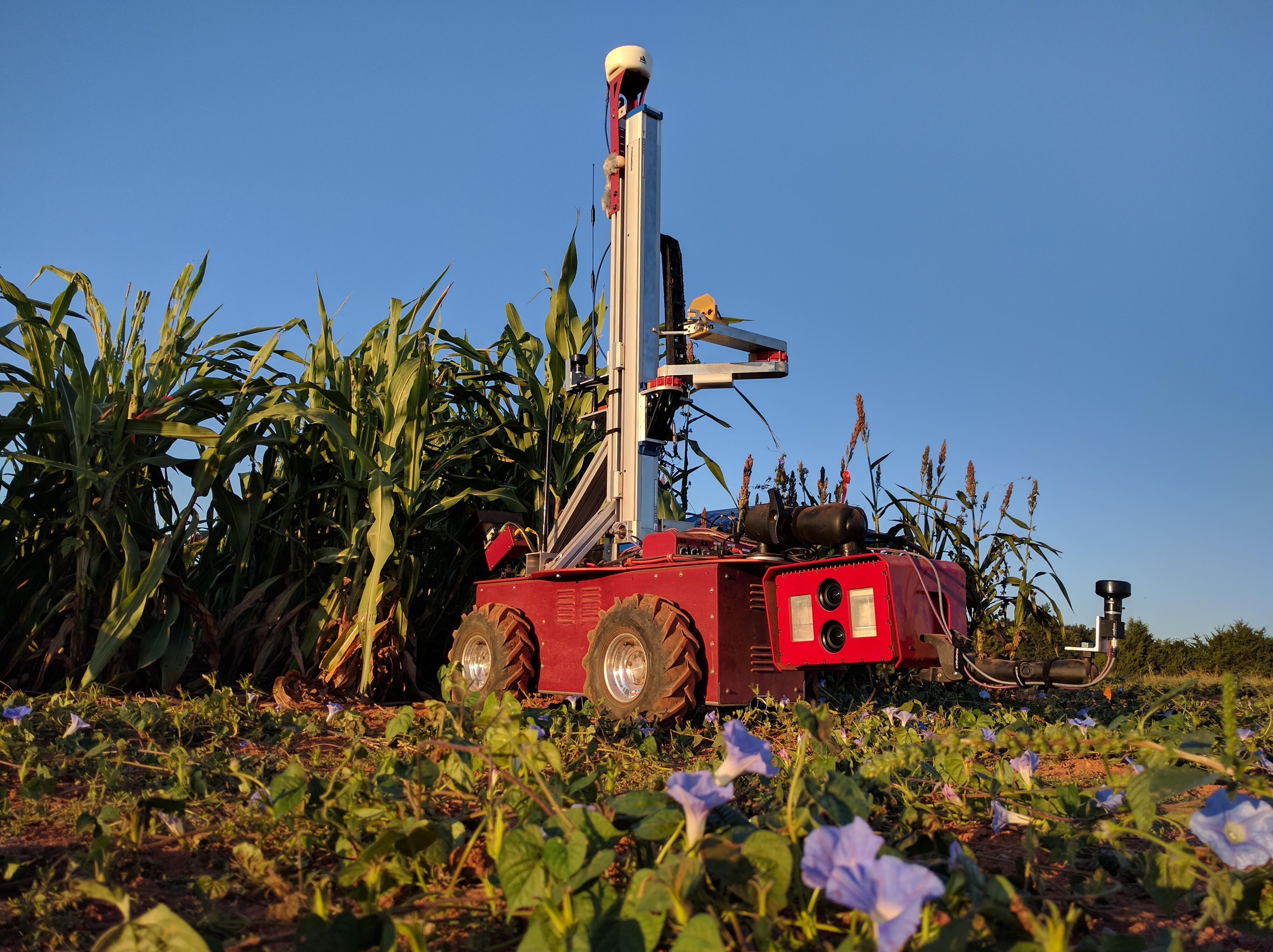 Carnegie Mellon University Farming Research Robot
