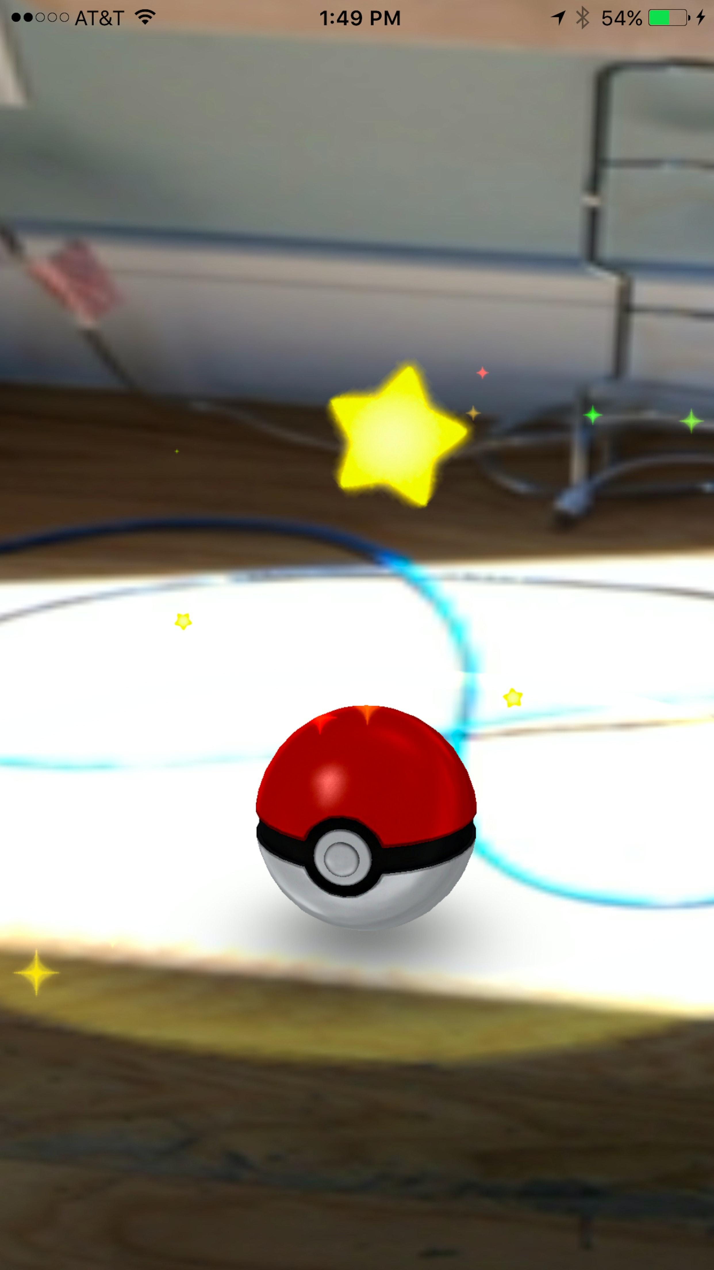 Cara Melempar Pokeball dengan Jitu di Pokemon Go