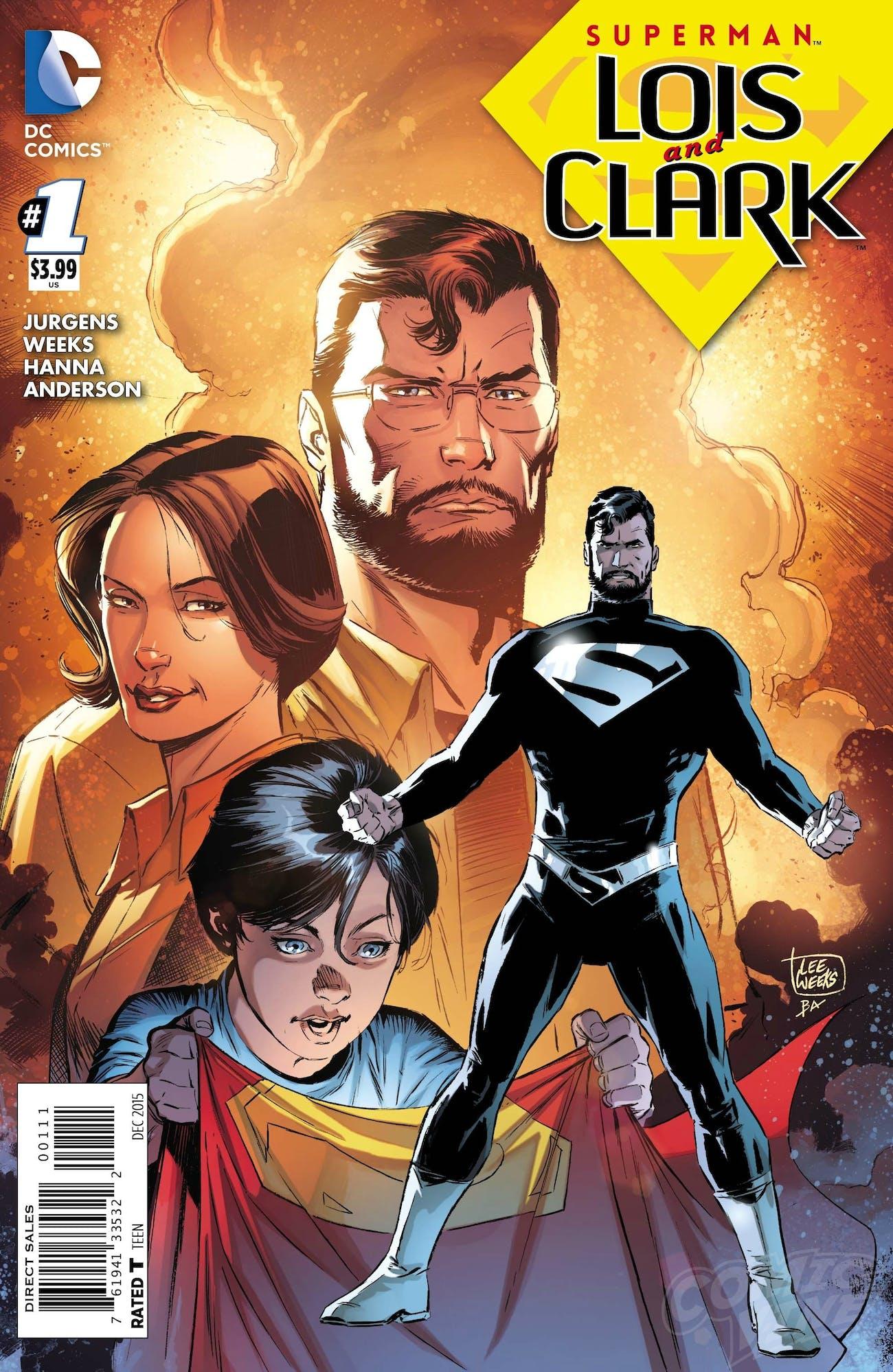 Superman Black Suit Beard Justice League