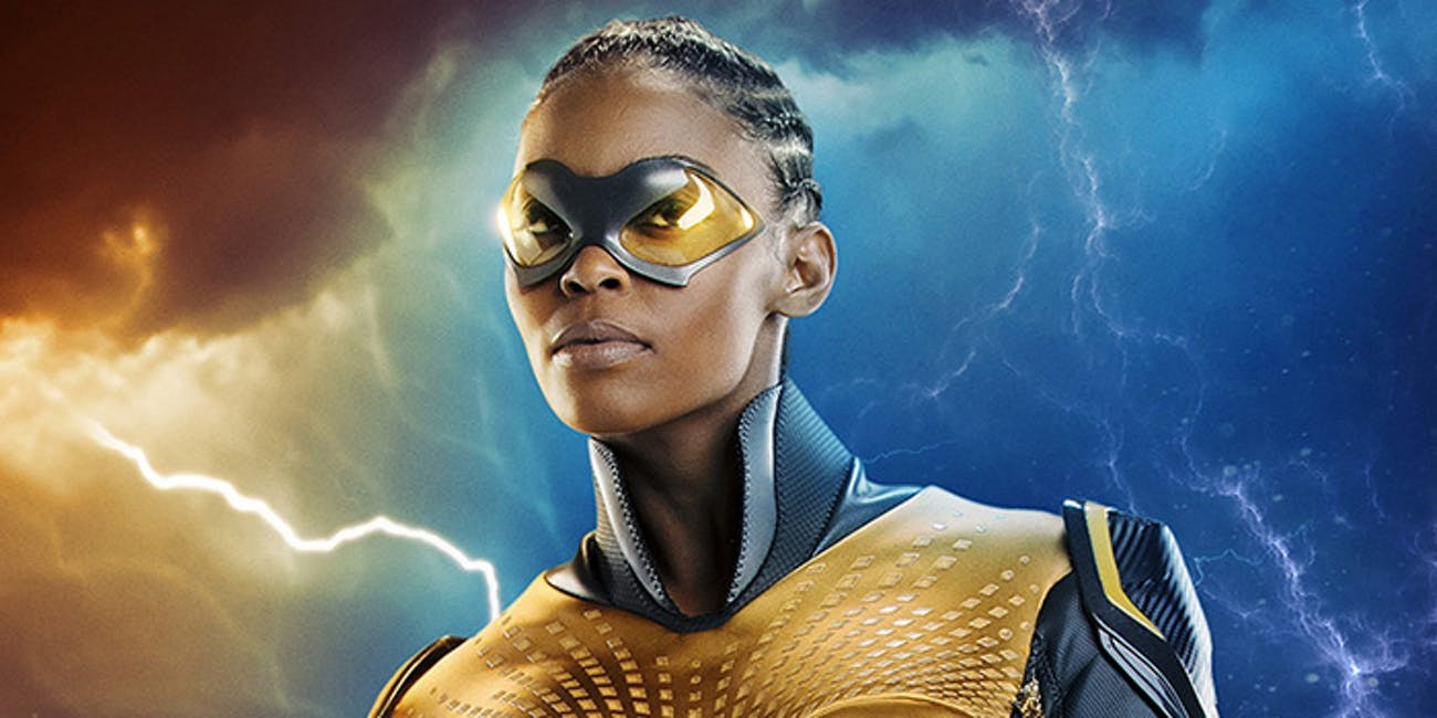 Nafessa Williams as Thunder on 'Black Lightning'