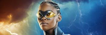 Nafessa Williams as Thunder on 'Black Lightning'