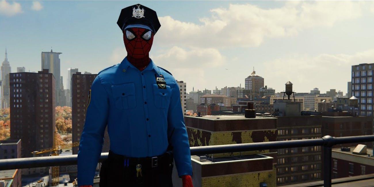 'Spider-Man' PS4 Spider-Cop