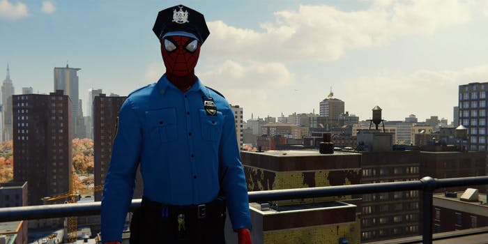'Spider-Man' PS4 Spider-Cop