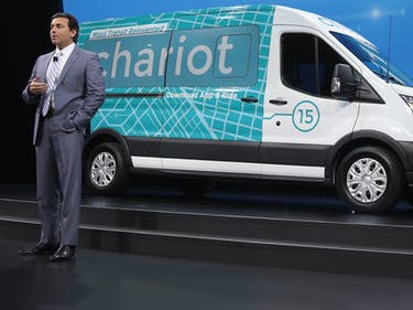 "Ford Announces ""Bigger, Faster"" Expansion for Chariot"
