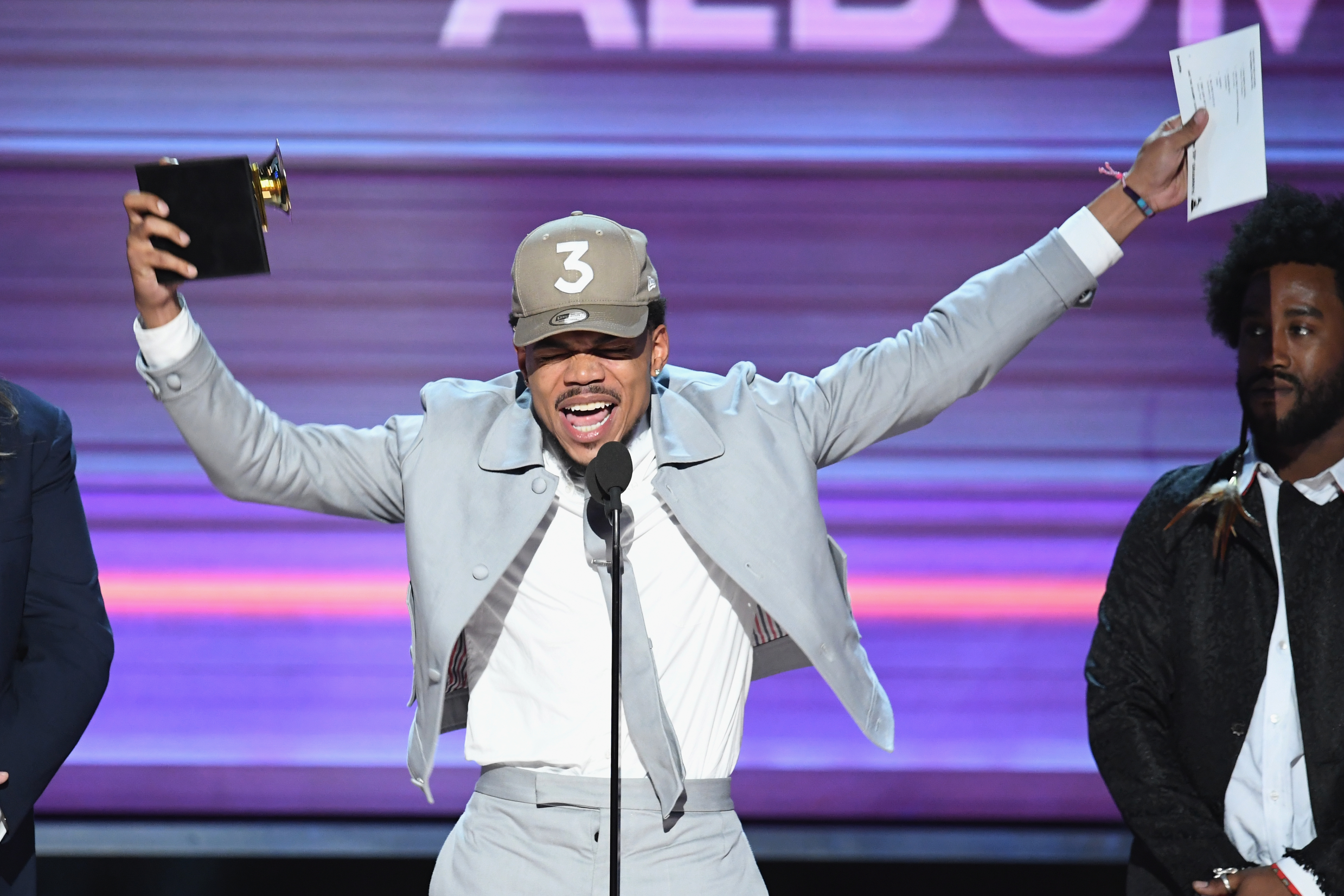 Why Chance The Rapper Shouted Out SoundCloud At Grammys