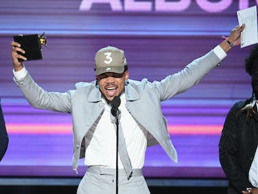 Why Chance the Rapper Shouted Out SoundCloud at the Grammys