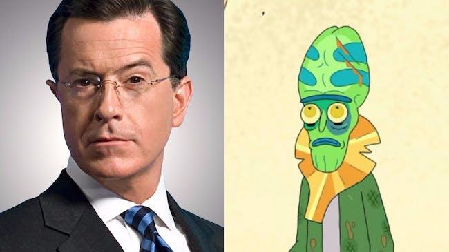 Stephen Colbert as Zeep Xanflorp.