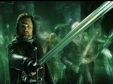 Fellowship Reunites as Aragorn Forgets How to Use a Sword