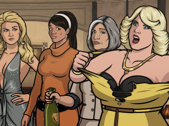 The 'Archer' Crew Turns Up The Heat For a Sexy Bar-Brawl-Bottle Episode