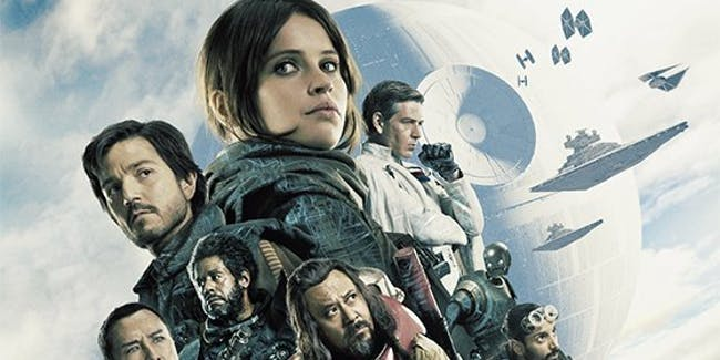 Yavin 4 in the Mexican poster for 'Rogue One'