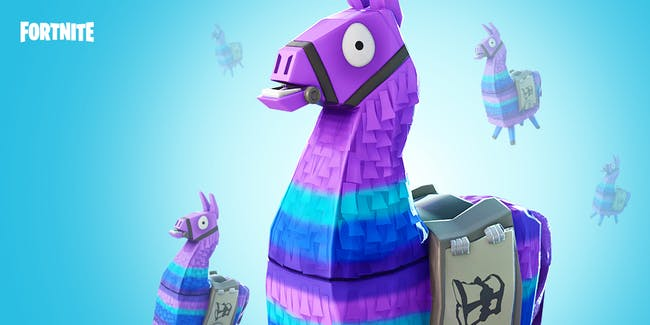 """Fortnite' Loot Llama"