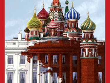 'Time' Magazine Cover Artist Explains His Russia-White House Work