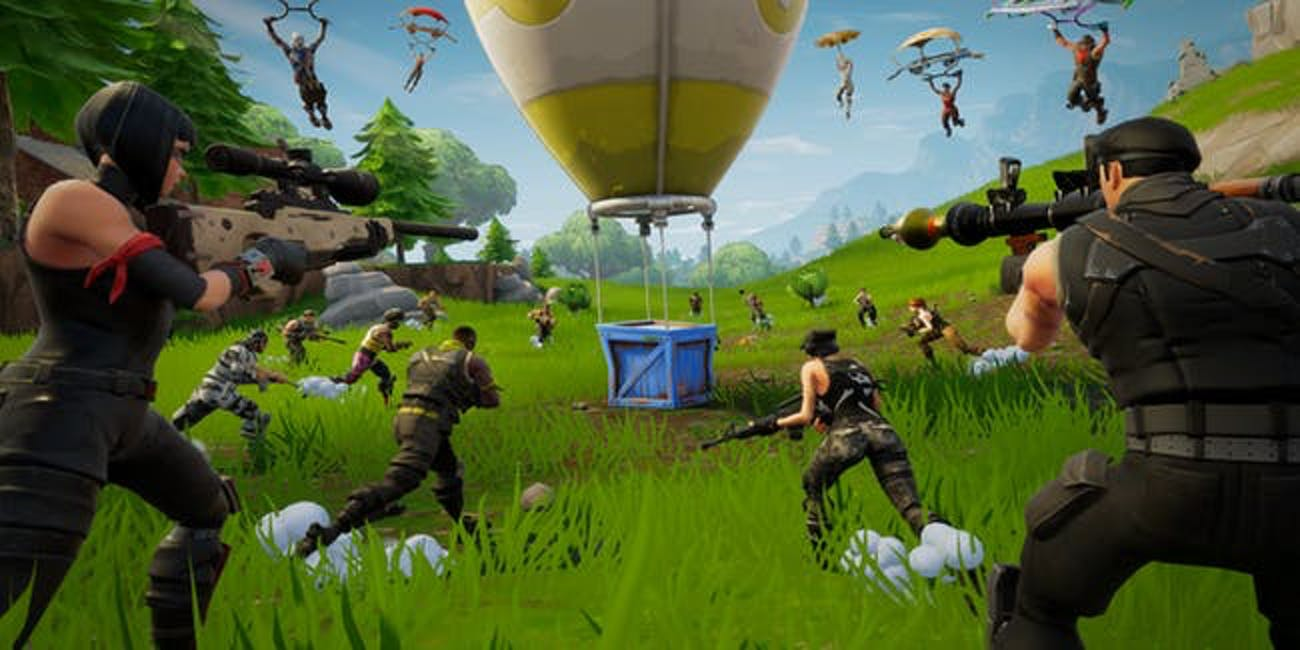 Expect scenes like this in the new Final Fight game mode of 'Fortnite: Battle Royale'.