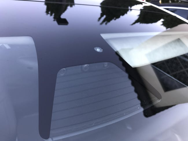 Tesla Model 3 autopilot sensors.