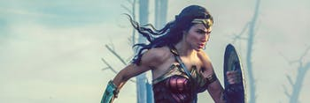 Diana running in No Man's Land in 'Wonder Woman'