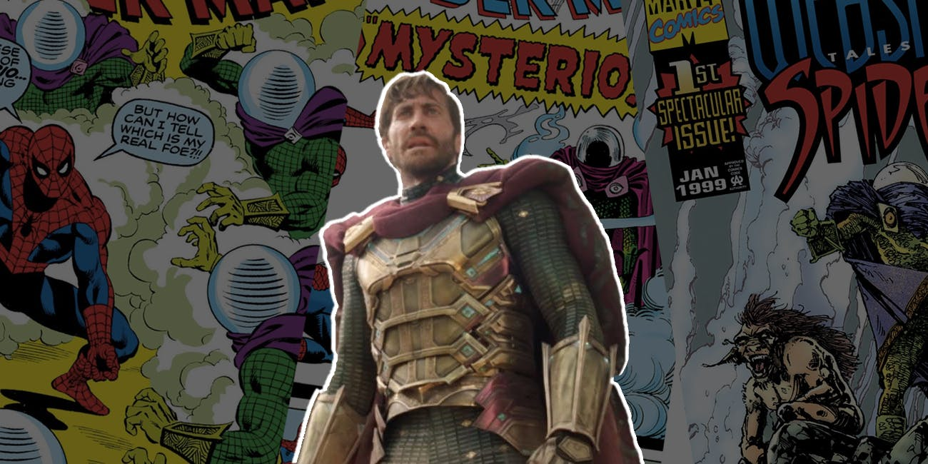 Spider-Man Mysterio Jake Gyllenhaal