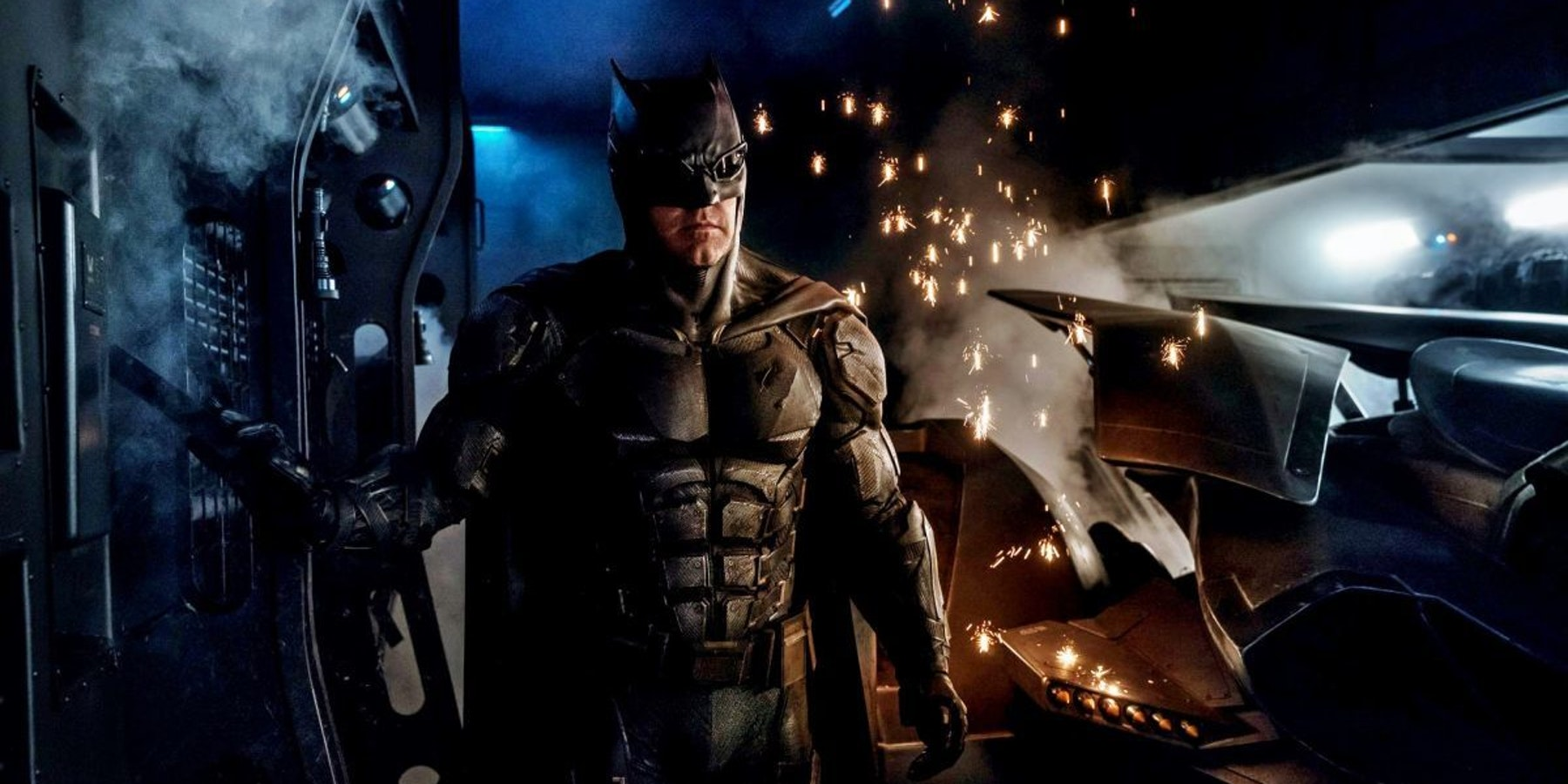 New Tactical Batman Suit from DC's Justice League movie
