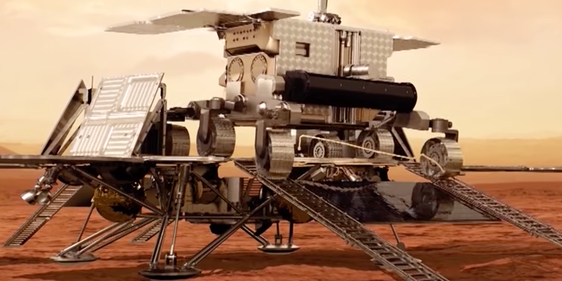 2 New Videos Show ExoMars Mission's Arrival at the Red Planet