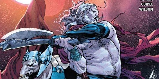 Unworthy Thor #2 cover for Marvel Comics