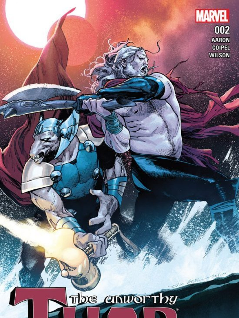 Unworthy Thor #2 cover for Marvel Comics