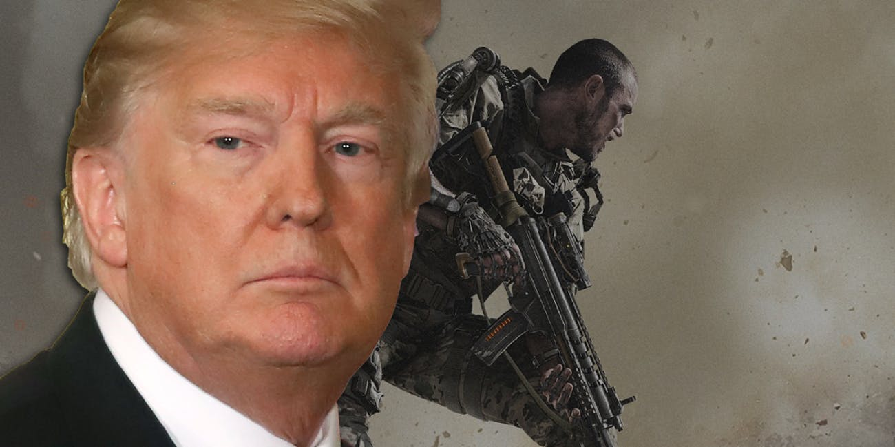 Donald Trump Call of Duty