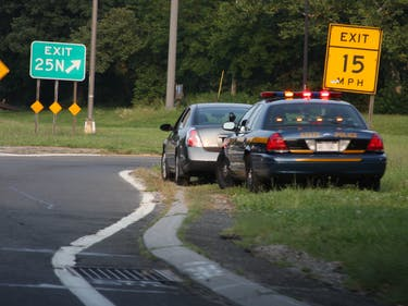 New York State Police Traffic Stop