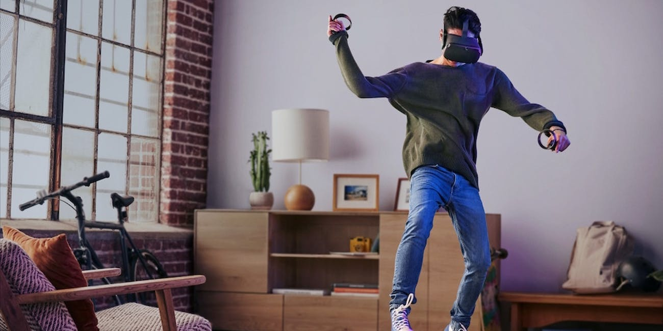 oculus quest virtual reality headset vr