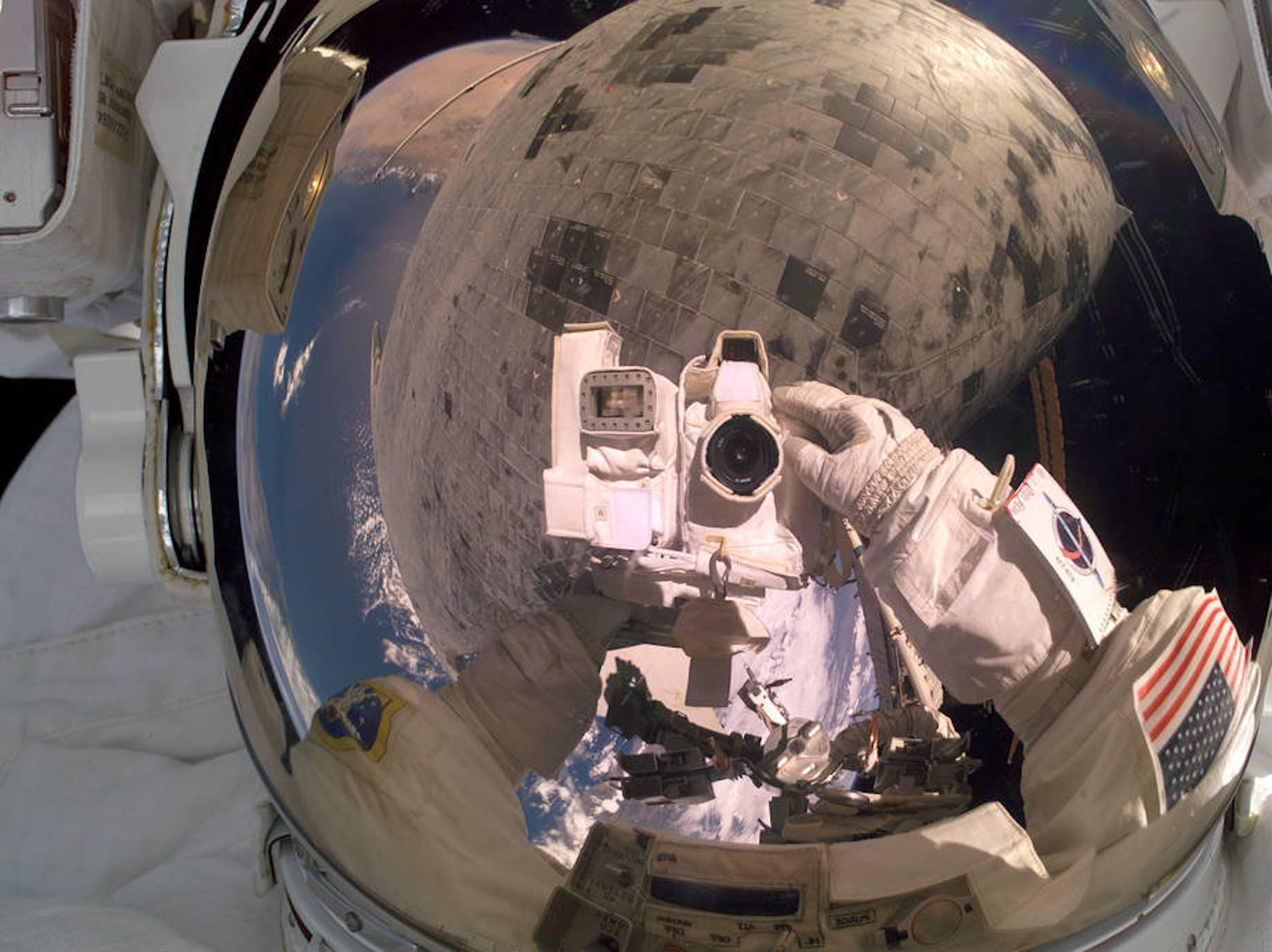 NASA astronaut camera photos iss
