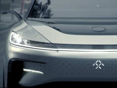 Faraday Future Gives Best Look Yet at Its Tesla Rival