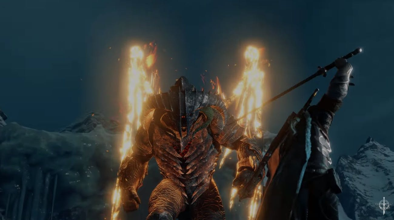 So apparently Talion is more powerful than Gandalf the Grey.