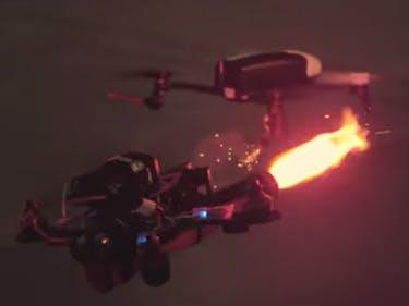 DroneClash is BattleBots for Quadcopters