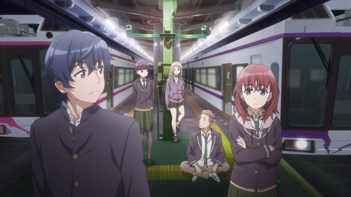 'Just Because!', an anime streaming on Amazon's Anime Strike.