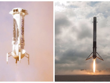 "SpaceX's Foray Into ""Space Internet"" Fans Flames of Rivalry With Blue Origin"