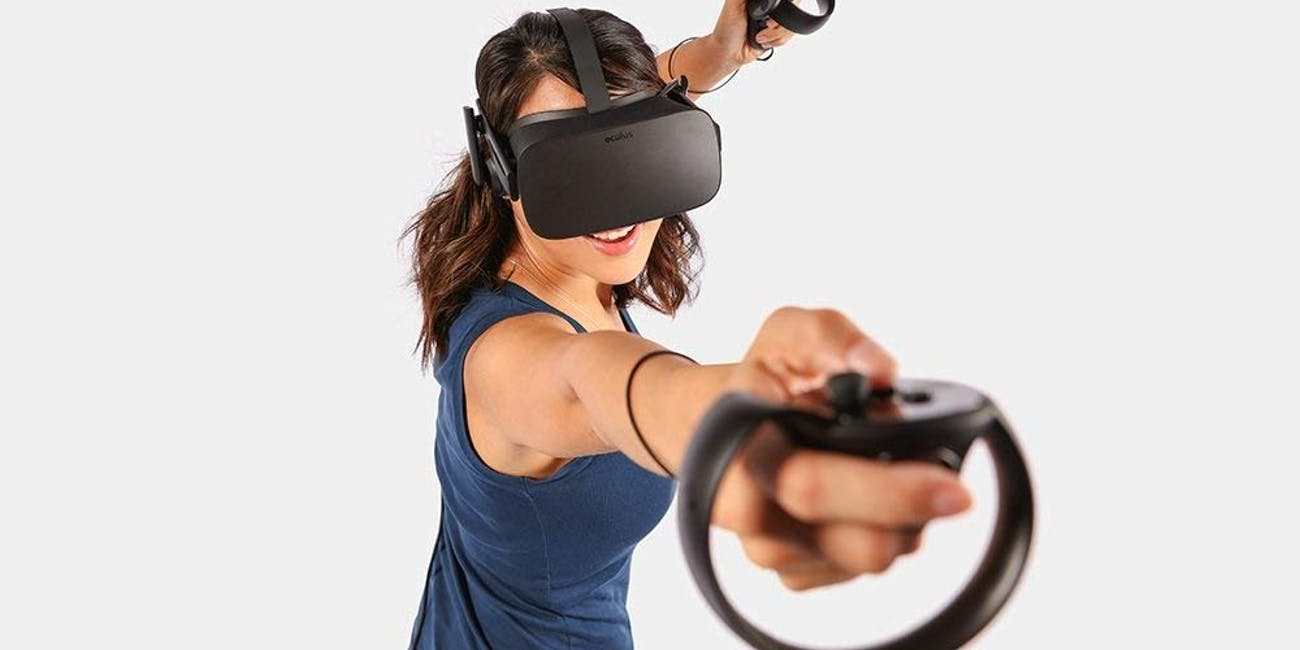 Oculus Rift + Touch Virtual Reality System (headset and controllers) VR best VR headsets