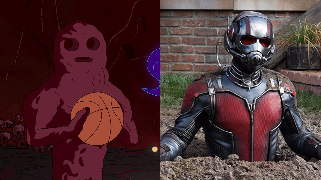 Wait, which one is supposed to be Ant-Man again?