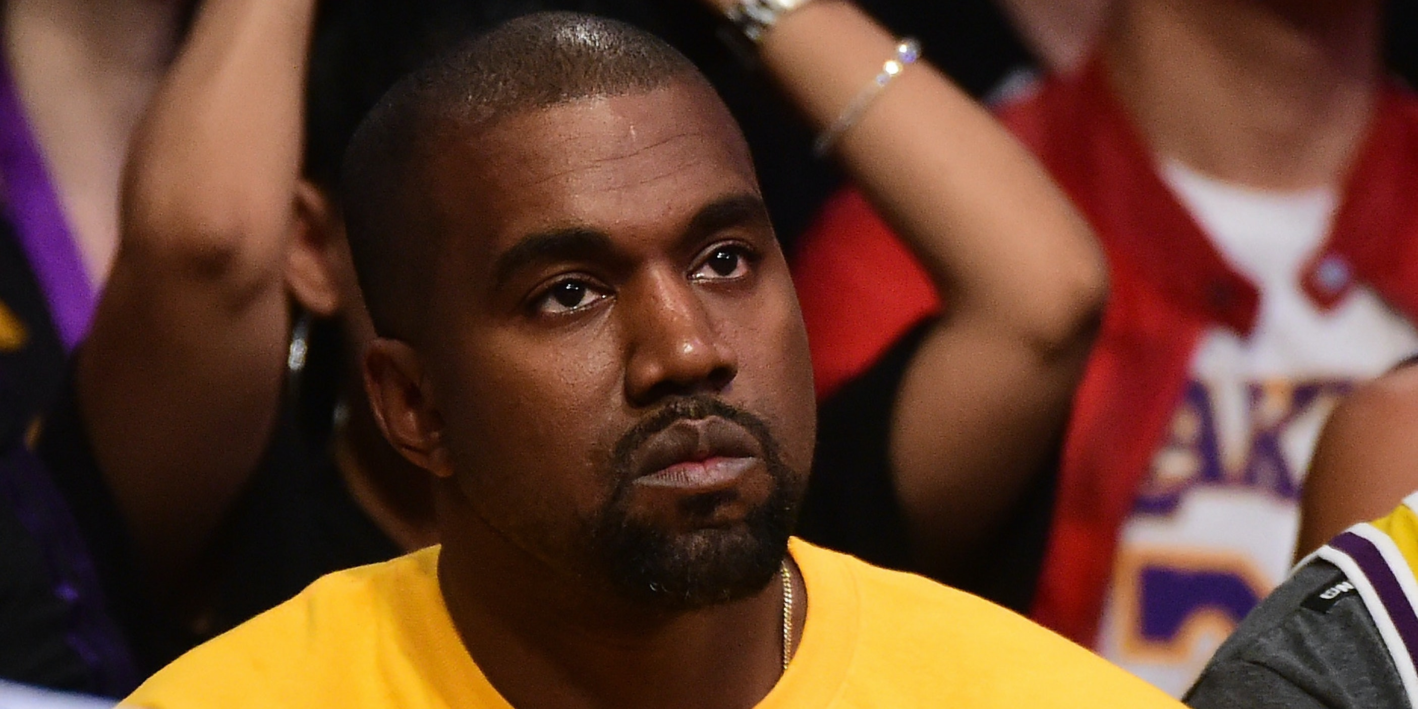 Kanye West has resting bitch face.