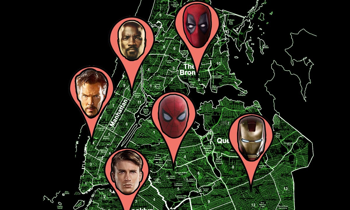 Imagine a New York City that belonged to the Avengers and Defenders