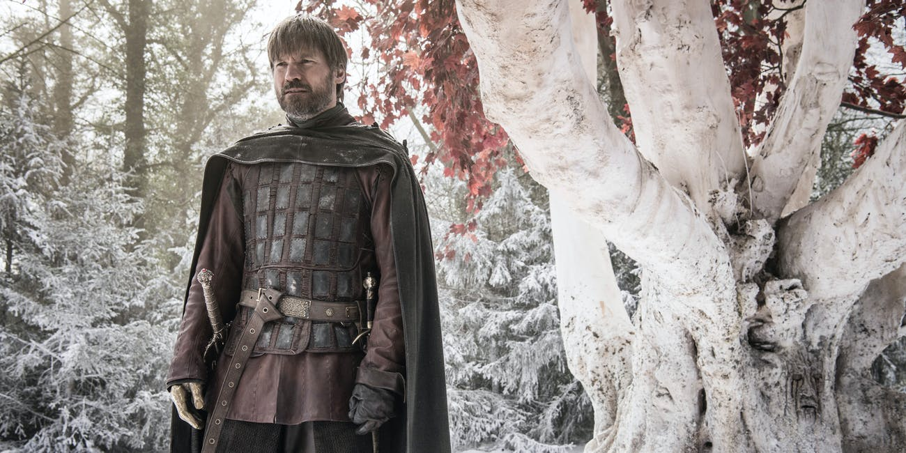Jaime Lannister (Nikolaj Coster-Waldau) on 'Game of Thrones' Season 8, Episode 2