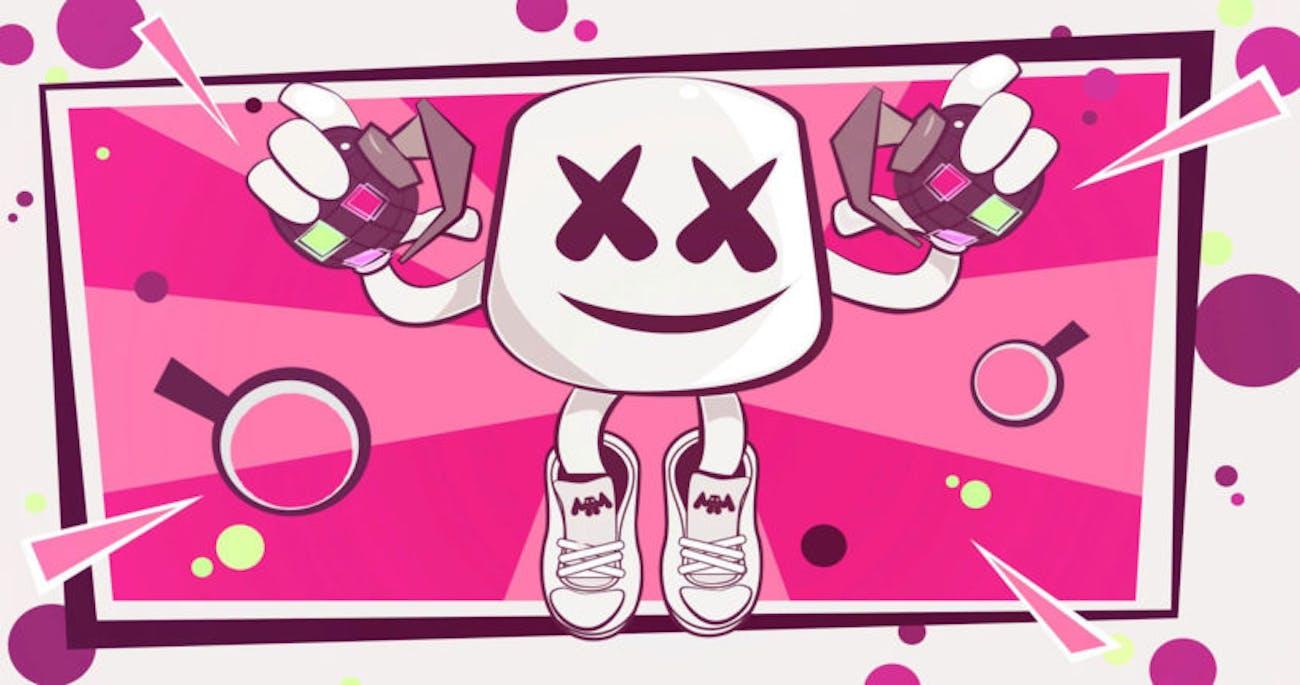 Fortnite Marshmello Showtime Poster