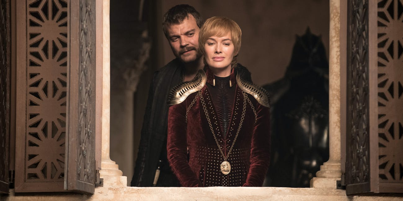 Episode 4 will feature Cersei and Euron, as this publicity image for the episode shows.