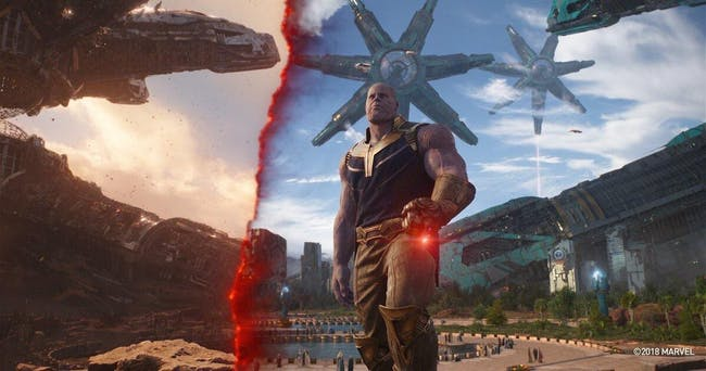 Thanos reveals what Titan once was.