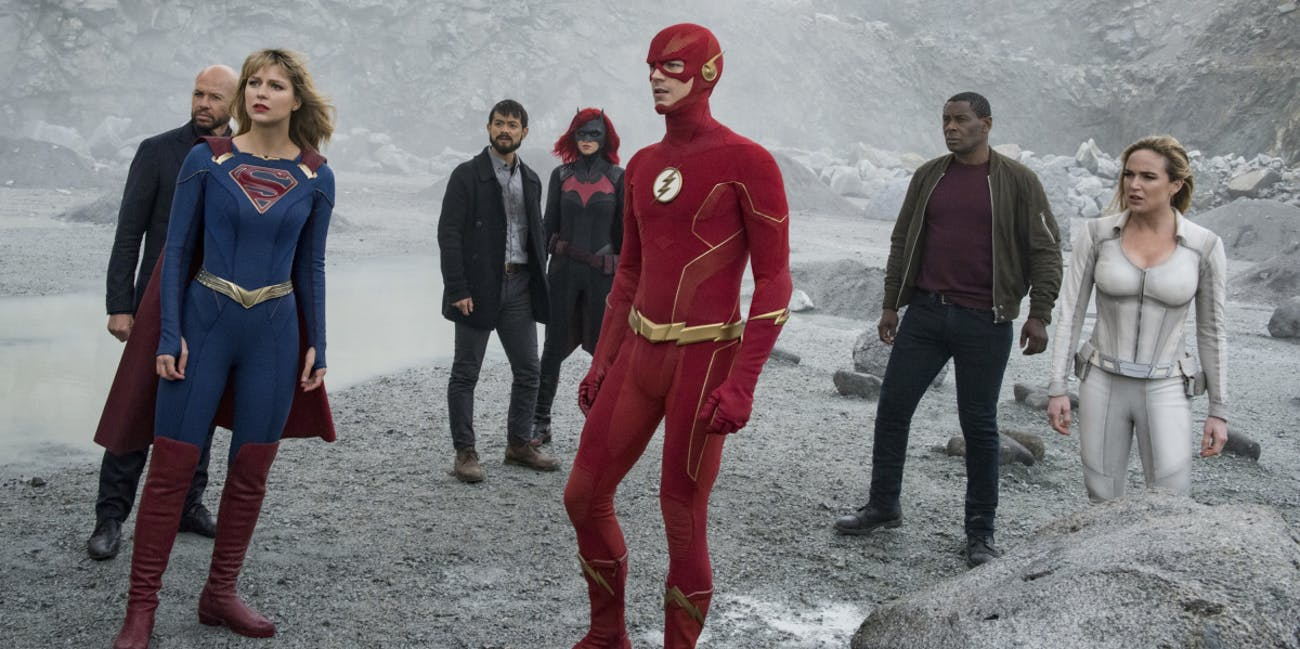 """Does Barry Allen time travel in """"Crisis""""?"""