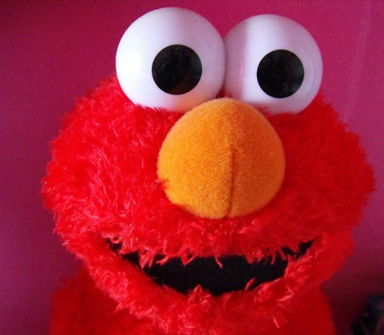 Abusive Elmo Has Some Choice Words for Your Dickhead Friends