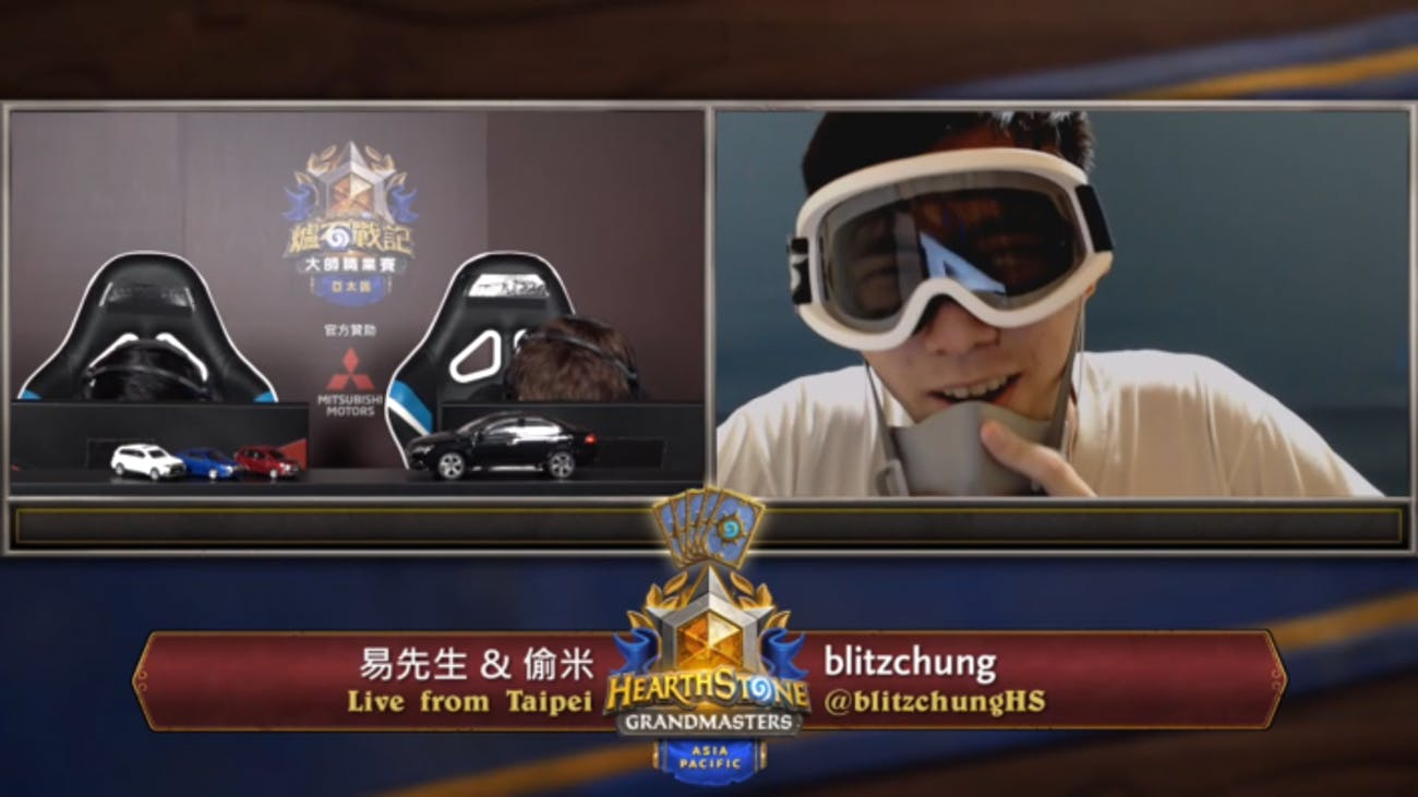 blitzchung live from taipei