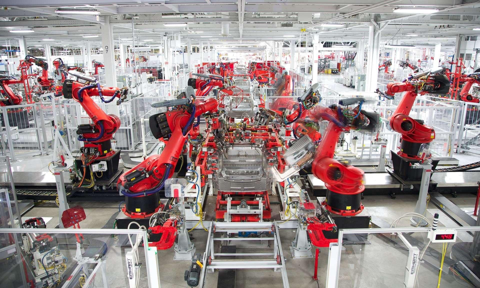 Tesla Reportedly Smashes Factory Records as Elon Musk Teases Profitability