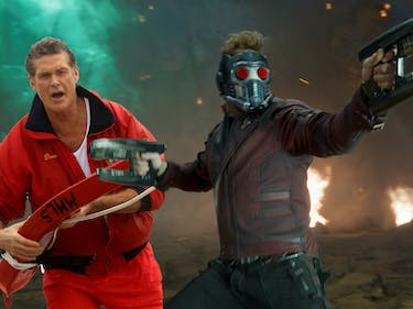 David Hasselhoff's Rap About Star-Lord Is Out of This World