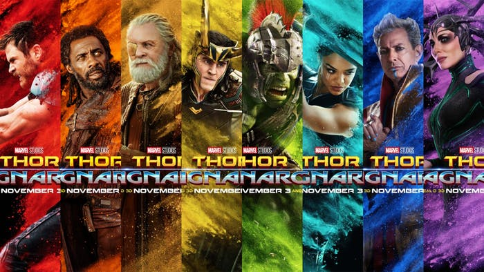'Thor: Ragnarok' has a colorful cast of characters.