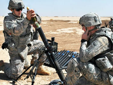 Paratroopers hone trademark skills