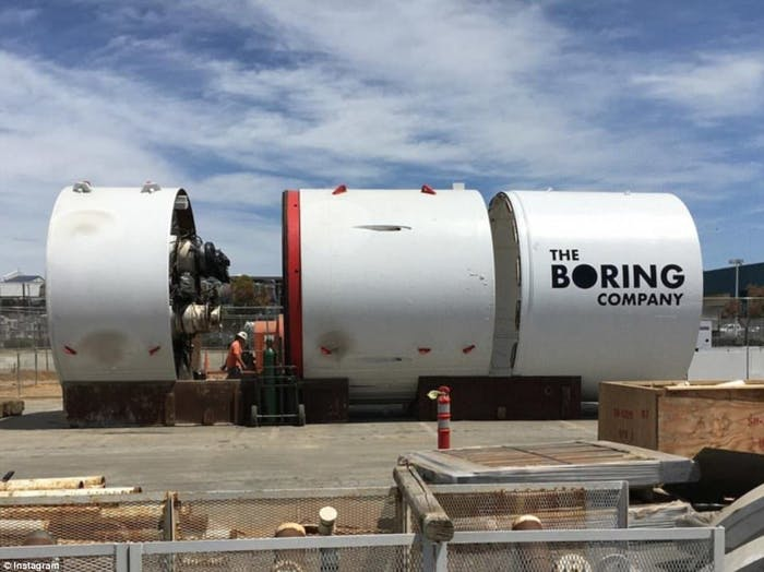 Godot the boring Company